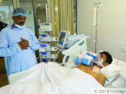 Support Vishnu to undergo a liver transplant surgery