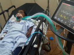 Help Abhilash Fight Lung Disease