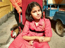 13 years old Riddhima Paul needs immediate Spine Correction Surgery