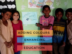 Support in creating active learning space for government school kids.