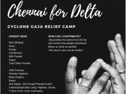 Save Delta #ChennaiForDelta