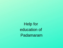 Help Ero Kumari and Rooparam get education