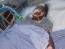 Save Poor labour's Family Who Met With An Severe accident