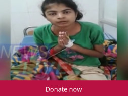 Help  Riku Moni Shikia Fight kidney Decease