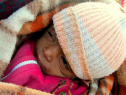 Give the Gift of Warm Blankets, Sweaters and Warm Meal to the Homeless