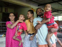 Help Suresh Treat His Three Mentally Challenged Children