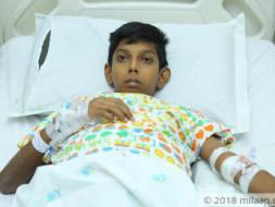 Help My Son Undergo Liver Transplant