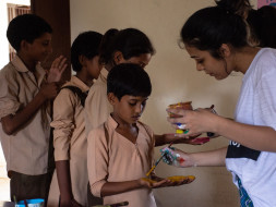 Help us in Painting School Walls in the Colour of Children's Dreams