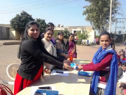 Donate Sanitary Pads for Girls of Ashram School