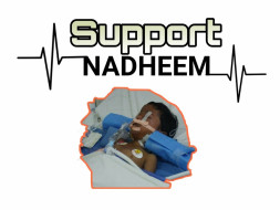 Support 6 Year Old Nadeem who met with a Tractor Accident