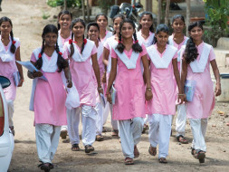 Aid for Education of Poor Girls