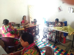 Support poor women with Sewing Machines and education for slums.