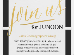 JUNOON: An Event For The Deprived