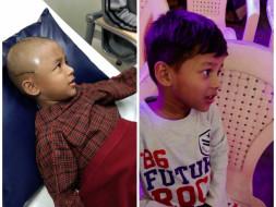 Help 5-year-old Jaidev Fight Brain Tumour