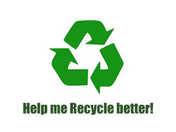 """RECYCLE : """"One bottle at a time"""""""