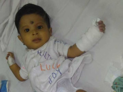 Help Seven month old  Baby Ved with Liver failure