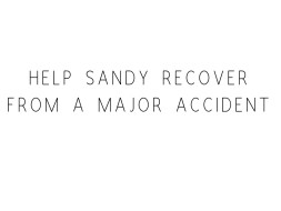 Help Sandy Recover From A Major Accident