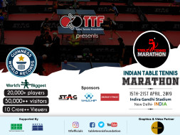 Indian Table Tennis Marathon 2019
