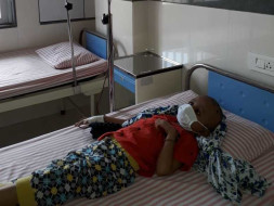 Boy With Brain Tumor Prays To God To Take Him Away From The Hospital