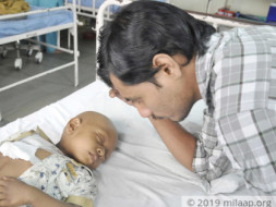 Help Swiggy Delivery Man Race To Save His 2-year-old Son From Cancer