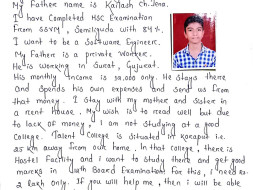 Help Manas Live His Dream