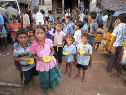 Help To Provide The Underprivileged With Food
