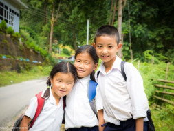 Support Sikkim State - SSS for children hygiene and Education