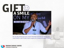 Gift A Smile On My B'day By Helping Me Raise Funds For This Cause