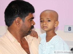 Jagan Mohan needs your help to fight Eye cancer