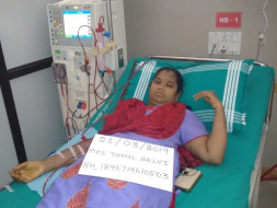 Help Tamil Selvi for kidney transplantation