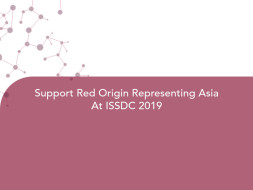 Support Red Origin Representing Asia At ISSDC 2019