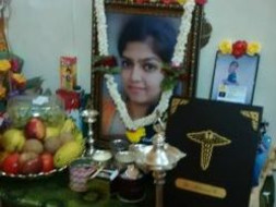 Relief Fund for Aishwaraya's family
