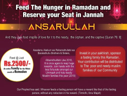Ramadan and Eid - Food for Poor Fasting Families and Needy
