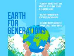 Join Earth for Generations to make the world green & sustainable