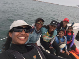 Help All Woman Team Represent India At The World Sailing Championship