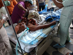 Help Rabindranath save his life from severe injury