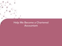 Help Me Become a Chartered Accountant