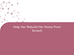 Help Her Rebuild Her Home From Scratch