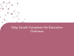 Help Sarath Complete His Education Overseas
