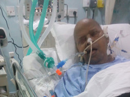 Please help my grandfather. Save his life.