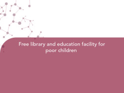 Free library and education facility for poor children