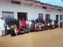 Help these  childrens to have separate class rooms and other amenities