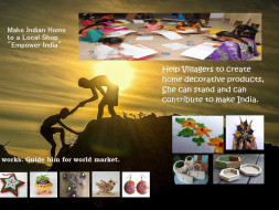 Empower Indian Local Creative Products