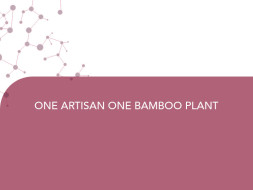 ONE ARTISAN ONE BAMBOO PLANT