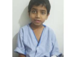 Urgent... Master Aadesh, Age-8yr.Need a help for Bonemarro transp