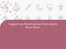 Help Jyoshna Get Treated for Brain Fever