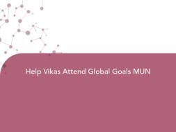Help Vikas Attend Global Goals MUN