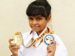Help Arinjita the 10 year old Karate Girl  win medals for India