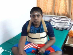 Help Ugnesh Undergo Muscular dystrophy Physiotherapy And Training