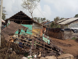 Retrieve people Shelters of GAJA Cyclone affected area